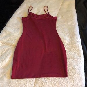 Touch Dolls Dresses - Touch Dolls Tight Maroon Dress